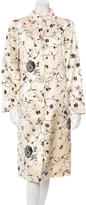 Tibi Embroidered Longline Coat