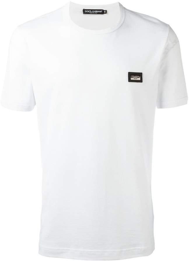 Dolce & Gabbana chest logo plaque T-shirt