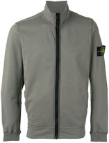 Stone Island zip up jacket - men - Cotton/Spandex/Elastane - XL