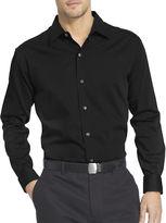 Van Heusen Long-Sleeve Sateen Stripe Woven Shirt