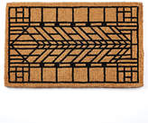 Rejuvenation Craftsman Arrow Windowpane Doormat
