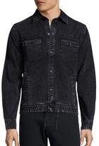 Madison Supply Long Sleeve Denim Jacket