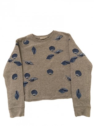 Stella Mccartney Kids Grey Cotton Knitwear