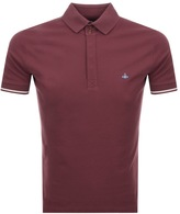 Vivienne Westwood Short Sleeve Polo T Shirt Red