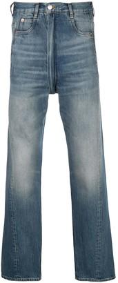 Martine Rose High-Waisted Straight-Leg Jeans
