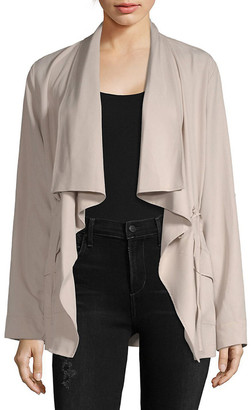 Vigoss Draped Open Front Jacket