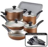 Farberware Nonstick Aluminum Cookware Set- 15-Piece