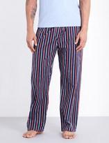 Derek Rose Royal 202 cotton pyjama bottoms