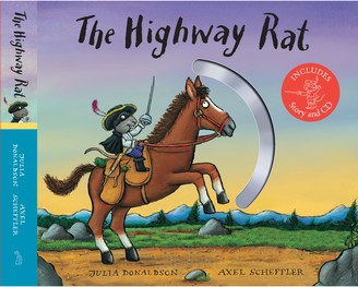 Christian Dior The Highway Rat Children's Book and Gift Edition