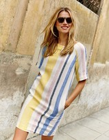 Boden Easy Linen Tunic Dress
