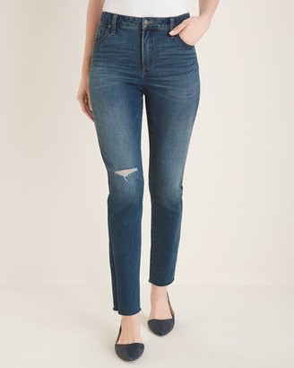 So Slimming Girlfriend Ankle Jeans