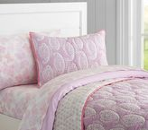 Pottery Barn Kids Paisley Wholecloth Quilt