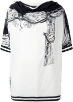 Loewe tent print tunic - women - Silk - One Size
