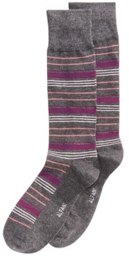 Alfani Men's Variegated Stripe Dress Socks, Created for Macy's