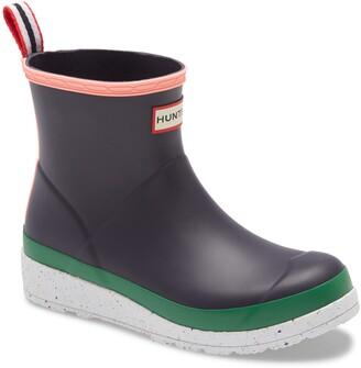 Hunter Original Play Speckled Platform Waterproof Rain Boot