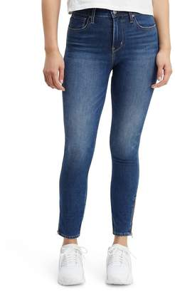 Levi's 721(TM) High Waist Ankle Zip Skinny Jeans (Under the Wire)