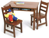 Lipper Cherry Kids Table & Chair Set