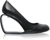 Leather Wedge Shoe