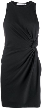 Alexander Wang Side Knot Mini Dress