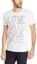 French Connection Men's Love Hate Fate T-Shirt