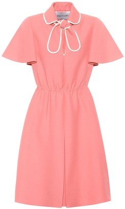 Valentino Wool and silk crepe dress