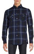 Sovereign Code Regular-Fit Hunter Plaid Sportshirt