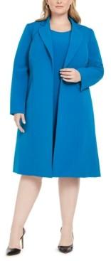 Le Suit Plus Size Longline Jacket & Dress Suit
