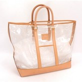 Louis Vuitton excellent (EX Vintage Isaac Mizrahi Clear Vinyl x Leather Limited Tote Bag
