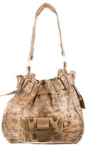 R & Y Augousti R&Y Augousti Lizard Shoulder Bag