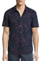 John Varvatos Insect Printed Shirt