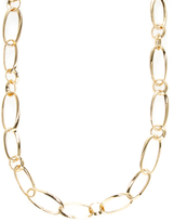 Kenneth Jay Lane Alternating Chain Link Station Necklace
