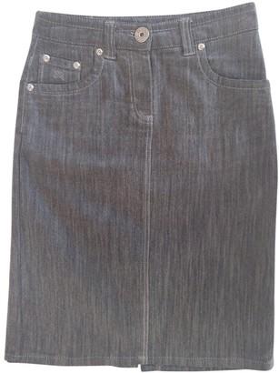 Burberry Grey Denim - Jeans Skirt for Women