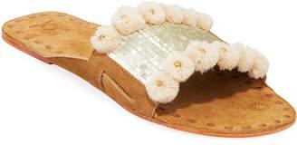 Figue Noona Sequin Slide Sandals