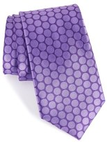 Nordstrom 'Sixties Circles' Dot Silk Tie (X-Long)