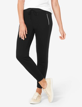 Tommy John Women's Go Anywhere Quick-Dry Side Panel Jogger