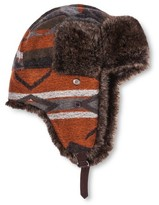 Mossimo Men's Global Print Fabric Fur Trapper Tan One Size