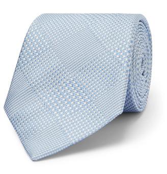 Richard James 7cm Prince Of Wales Checked Silk-Jacquard Tie