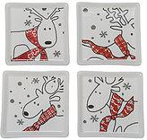 BIA Cordon Bleu Oh Deer 4-Piece Coaster Set