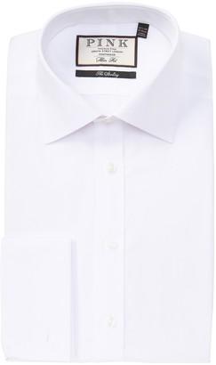 Thomas Pink Frederick Poplin Slim Fit Dress Shirt