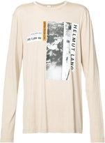 Helmut Lang X Travis Scott Debris long sleeved T-shirt