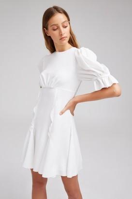 Keepsake BELOVED MINI DRESS white