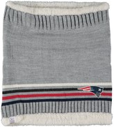 G Iii Women's G-III Sports by Carl Banks New England Patriots Warm Up Striped Tube Scarf