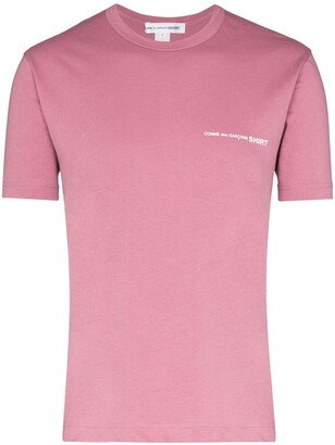 Comme des Garçons Shirt logo-print cotton T-shirt
