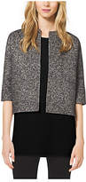 Michael Kors Reversible Mohair And Herringbone Wool Jacket