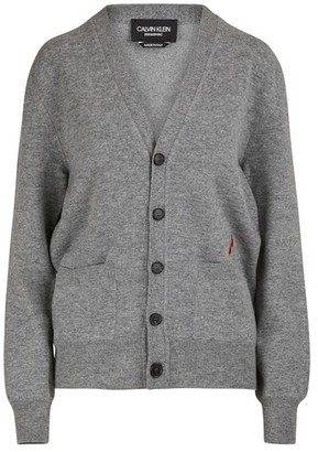 Calvin Klein Wool and cotton cardigan
