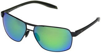 Maui Jim The Bird (Dark Gunmetal/Black/Grey Temples) Fashion Sunglasses