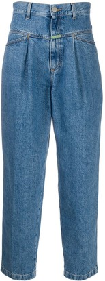 Societe Anonyme High-Rise Straight Jeans
