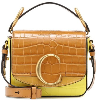Chloã© ChloA C Mini leather shoulder bag