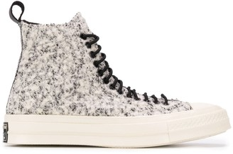 Converse Shearling Panel Sneakers