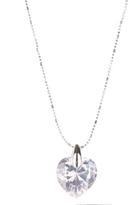 George Heart Pendant Necklace